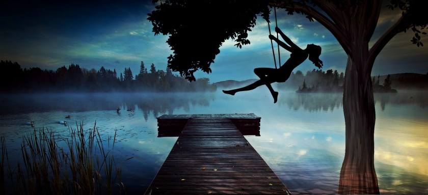 pensive feels, swinging, depression, freedom, meaning, life, purpose