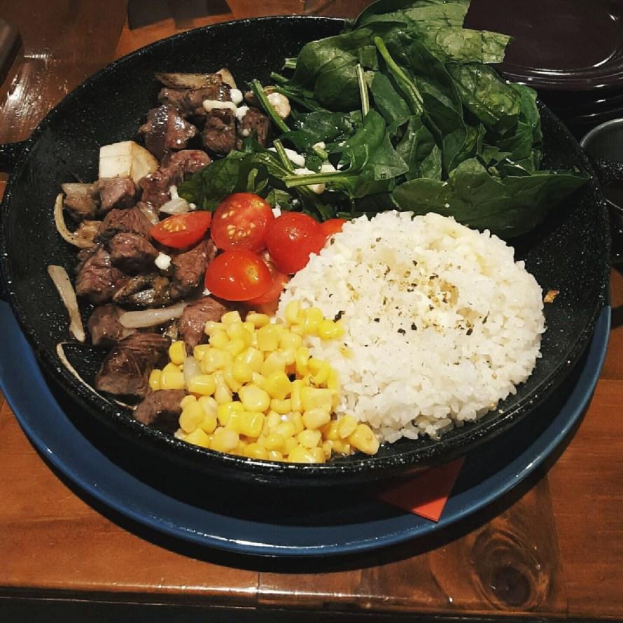 Steak bibimbap
