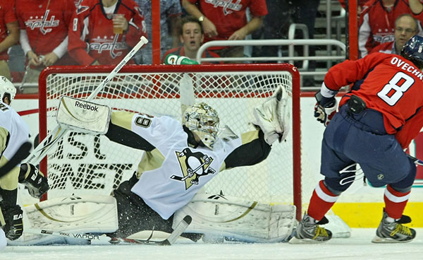 Image result for ovechkin fleury