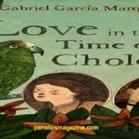 Love in Times of Cholera ... Garcia Marquez