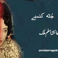 جثہ کنمبے ۔۔۔ عائشہ اسلم ملک
