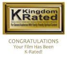 Congratulatory Letter | Kingdomwood Christian Film Acceptance