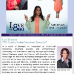 Game Changers with Lisa Faulkner | May 3rd WAEC Love 860 | 6pm  | Expert Advice and Humor