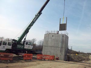 Installing penstock, valve and actuator systems