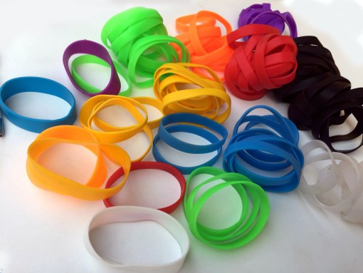 wrist band promotional items