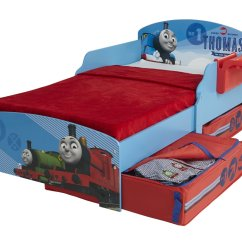 Thomas The Tank Engine Desk And Chair Cover Rentals Fresno Ca Storytime Toddler Bed With Under