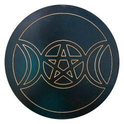 Пентакль большой Триединая Богиня 29 см