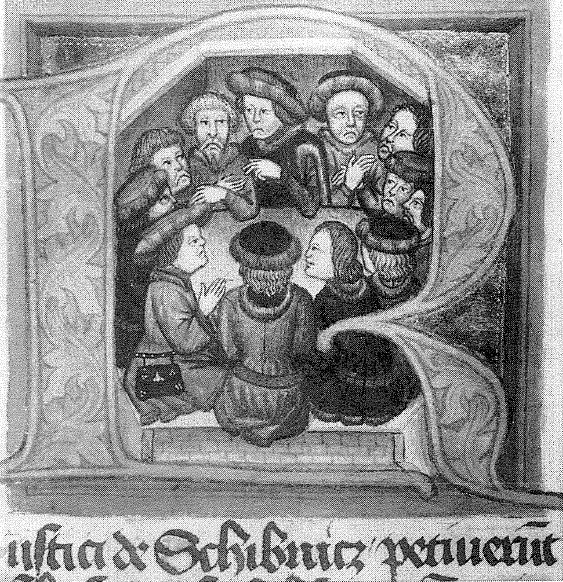 Twaalf broeders. KnihaVâclava z Jihlavy,Tsjechië.