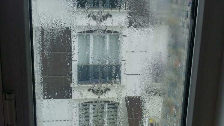 Terlemenin cam yüzeyindeki görüntüsü