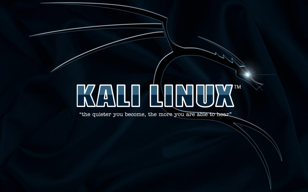 Installing Kali Linux in VMware Workstation Pro