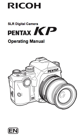 Pentax KP operating manual now available for download
