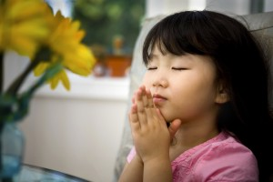 Asian Pentecostalism - Girl Praying