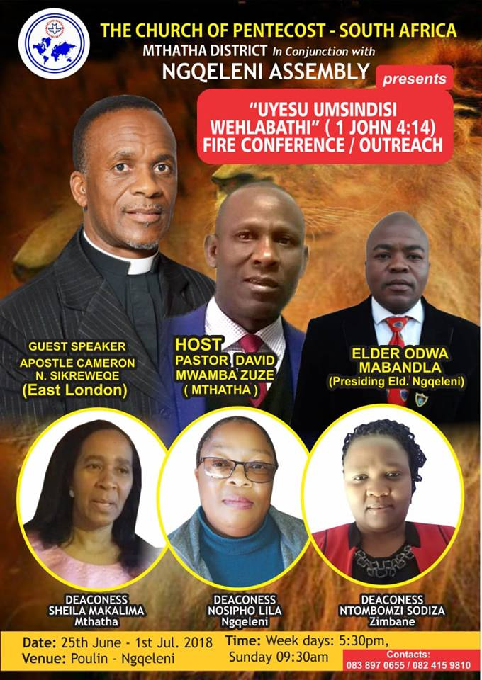 Fire Outreach Conference - Mthatha District(Ngqeleni Assembly)