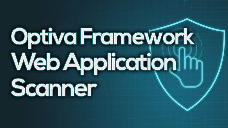 Optiva Framework - Web Application Scanner – PentestTools