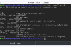 Firecall - Automate SSH Communication With Firewalls, Switches, Etc.