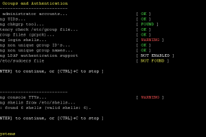 Lynis 2.6.5 - Security Auditing Tool for Unix/Linux Systems