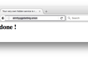 Docker TOR Hidden Service - Easily Setup A Hidden Service Inside The Tor Network