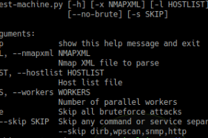 Pentest-Machine - Automates Some Pentest Jobs Via Nmap Xml File