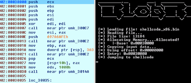 BlobRunner - Debug Shellcode Extracted During Malware Analysis