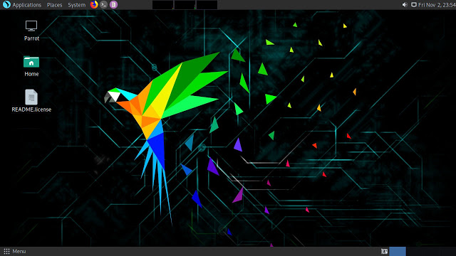 Parrot Security 4.3 - Security GNU/Linux Distribution Designed with Cloud Pentesting and IoT Security in Mind