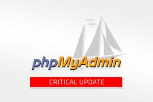 phpmyadmin security update