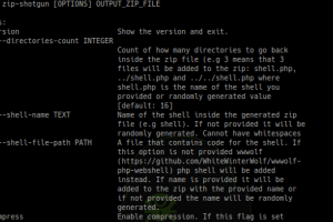 ZIP Shotgun - Utility Script To Test Zip File Upload Functionality (And Possible Extraction Of Zip Files) For Vulnerabilities