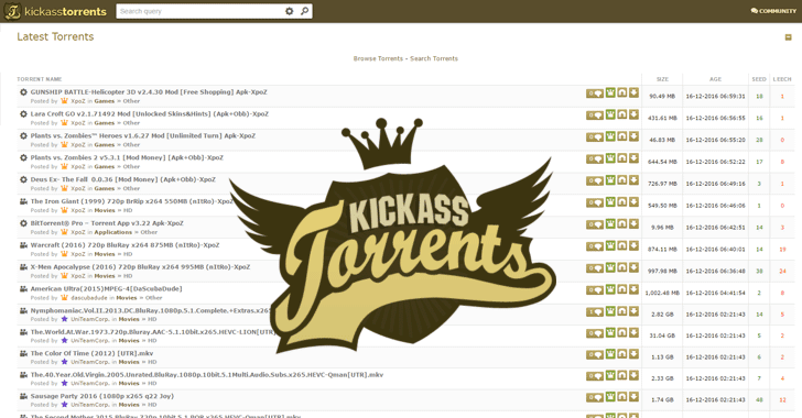 Kickass na 720p main torrent hoon Chalo Dilli