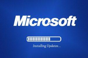 Microsoft software patch updates