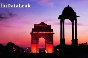 delhi database leak