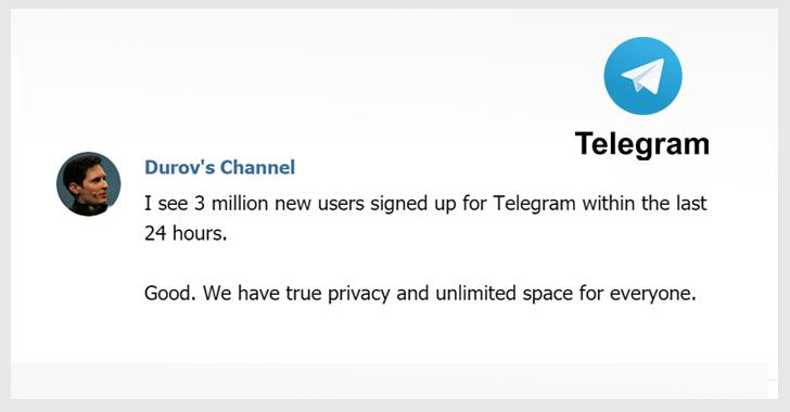 encrypted telegram messenger