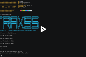 Traxss - Automated XSS Vulnerability Scanner
