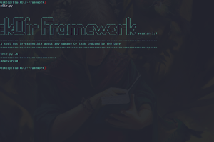 BlackDir-Framework - Web Application Vulnerability Scanner