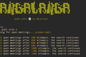 Tangalanga - The Zoom Conference Scanner Hacking Tool