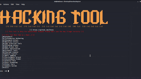 HackingTool - ALL IN ONE Hacking Tool For Hackers