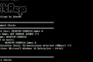 SitRep - Extensible, Configurable Host Triage