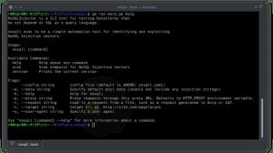NoSQLi - NoSql Injection CLI Tool