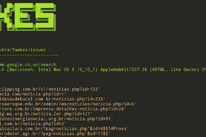 Fawkes - Tool To Search For Targets Vulnerable To SQL Injection (Performs The Search Using Google Search Engine)