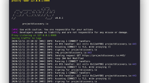 Proxify - Swiss Army Knife Proxy Tool For HTTP/HTTPS Traffic Capture, Manipulation, And Replay On The Go