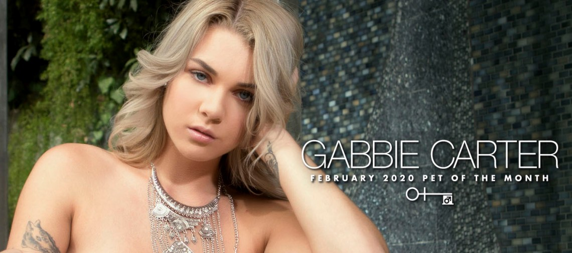 GABBIE CARTER - Penthouse Pet Février 2020