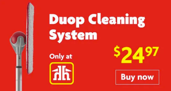 The best mop in Penticton, the Duop cleaning system, Penticton Home Hardware Building Centre.