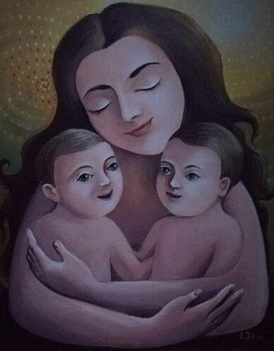 Pentru mame de gemeni