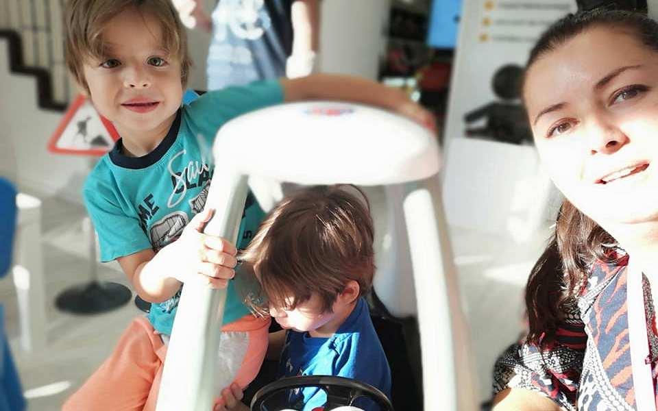 erfi centrul de siguranta auto copii