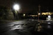 上総亀山 streets at night 2