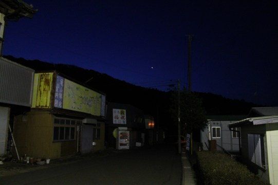 上総亀山 streets at night 9