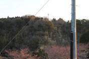 上総亀山 cliff