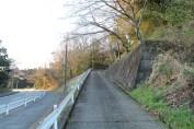 上総亀山 graveyard path 1