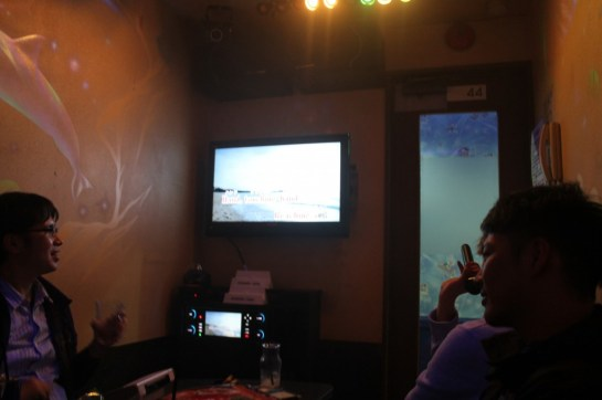 Yup, ended up at a karaoke place
