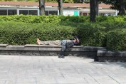 A guy just chillaxing