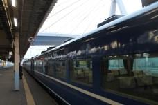 Sleeper train.