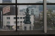 鳥取駅 Window sight